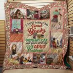 Theartsyhomes Book D1310 83o07 3D Personalized Customized Quilt Blanket ESR49