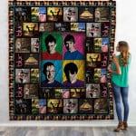 Theartsyhomes Blur Band 3D Personalized Customized Quilt Blanket ESR5