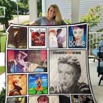 Theartsyhomes David Bowie 3D Personalized Customized Quilt Blanket ESR34