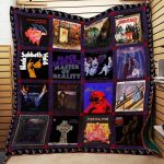 Theartsyhomes Black Sabbath R222 3D Personalized Customized Quilt Blanket ESR39