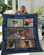 Theartsyhomes Boxer 2 3D Personalized Customized Quilt Blanket ESR47
