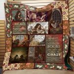 Theartsyhomes Book D1307 83o37 3D Personalized Customized Quilt Blanket ESR35
