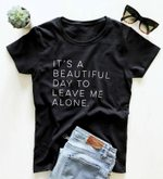 Cotton Casual Funny Hipster Letter Print T-shirt