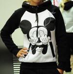 Mickey Printed Tracksuits Casual Sweatshirt