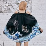 Japanese Traditional Orient Ethnic Cardigan Kimonos