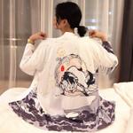 Fashion Samurai Costume Karate  Kimono