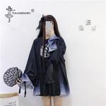 Print Cardigan Costume  Long Sleeve Kimonos