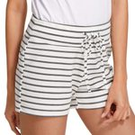 Sports Mini Sexy Casual Striped  Shorts