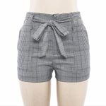 Stripe Pocket Loose Beach high waist shorts