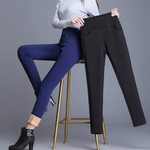 Fleece Thick  Pencil Cashmere Trousers Warm Pants