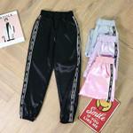 Casual Sport Ribbon Trousers High Waist Fashion Harem Pants