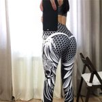 Sexy Fashion Print Polyester High Waist  Skull Fitness Legging