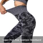 Gym Yoga Seamless High Waist Workout Leggings