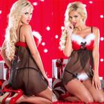 Costume Xmas  Fantastic Sexy Christmas Erotic Nightdress