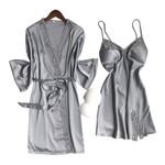 Ice Silk Pajamas Sexy Sleepwear