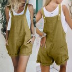 Plus Size Pants Fashion Strap Rompers