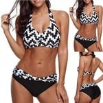 Print Swimsuit Beachwear Padded Bathing Bikini