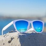 Mirror  fashion Unisex frame Sunglasses