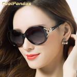 Fashion Oversize Fox Frame Polarized Sunglasses