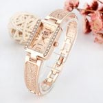 diamond clock luxury bracelet watch