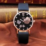 Fashion Strap Digital Dial Leather Luxury Bracelet Watch