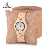 Quartz Imitation custom logo wood watch