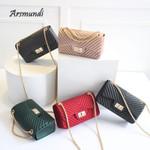 Shoulder Fashion Small V-chain Messenger Bag Handbag