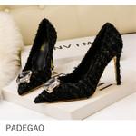 Luxury Pumps Crystal Elegant Party High Heels