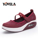 Slip on Walking Breathable Mesh Casual  Plat Shoes