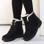 Ankle Warm Plush Insole  Snow Boot