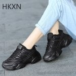 Lace Up Soft High Leisure Chunky Fashion Vulcanize Sneakers