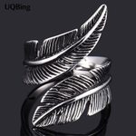 Leaf Fits Jewelry Feather Rings