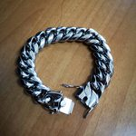 Clasp Stainless Steel Curb Chain Bracelet