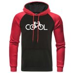 Leisure Warm Brand Pullover Raglan Hoodies