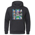 Exaggeration  Peculiar Fashion Pullovers joker print hoodies