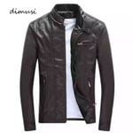 Warm Windbreaker Faux Casual Leather PU Leather Jackets