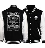 Fashion Hoodies Baseball Jackets