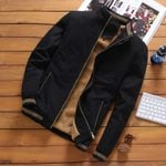Pilot Warm Fashion Baseball  Slim Fit Fleece Jackets