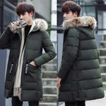 Thick Warm Parka Fur Hooded Military Coat