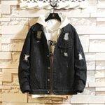 Slim Fashion Wash Casual Denim Jackets