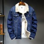 Outerwear Warm Fleece Wool Liner Thicker Denim Jackets