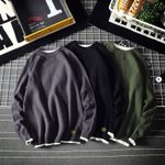 Warm Fashion Casual Knit Pullover Loose Long-sleeved Sweater