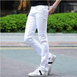 Cotton Slim Skinny Long Trousers Stretch Fashion Jeans