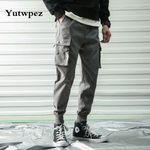 Skinny Trousers Hombre Casual Cargo Pants