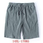 Linen Stretch Sports Casual Loose Shorts