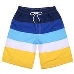 Swim Trunks Quick Dry Beach Surfing Running Print Fashion Short
