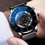 Luxury Fashion Sport Mesh Band Quartz Watches