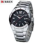 Quartz Watch Stainless Steel Fashion Casual  Luxury Sport Watches