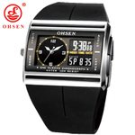 Waterproof Sport Alarm LCD Digital Dual Core Watch