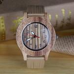 Bamboo Fashion Quartz Wrist Casual Wooden Watch